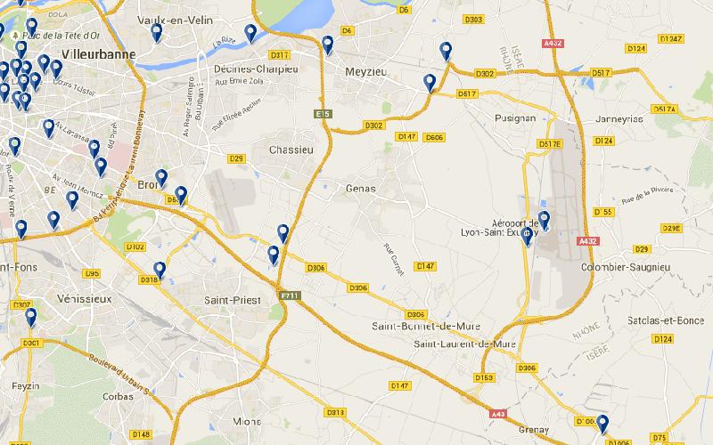 Hotel Pres Aeroport Lyon